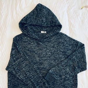 Gap hooded sweater, relaxed fit, ladies size Med